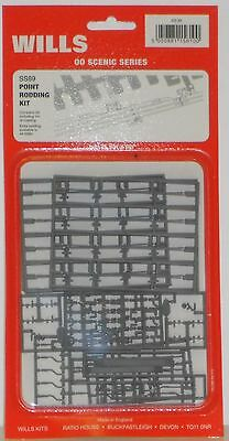 Wills SS89 Point Rodding Kit - NEW   (OO Gauge)