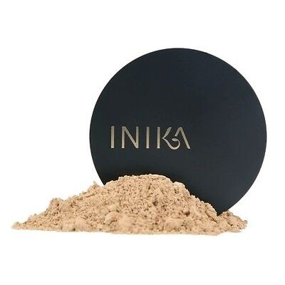 Inika - Organic Mineral Foundation Powder Spf15+ All Available + Free Sample