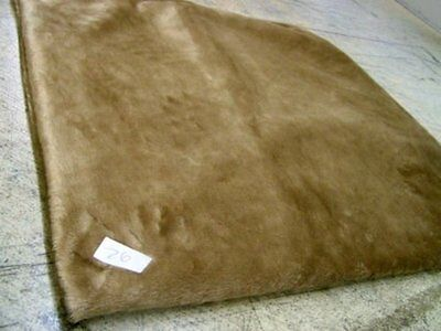 KosiPet® Mid Brown Faux Fur Self Heating Thermal Luxury Pet Dog Cat Bed Mat Pad,