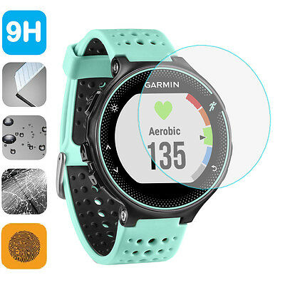 9H Tempered Glass LCD Screen Protector Shield Film for Garmin ForeRunner 235 225