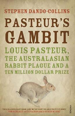 Pasteur's Gambit by Stephen Dando-Collins Paperback Book Free Shipping!