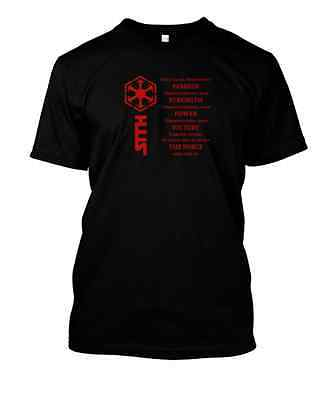 STAR WARS The Sith Code 100% Cotton T Shirt