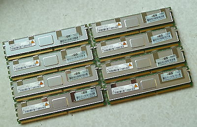 32GB (8x4GB)  PC2-533F-555 DDR2-667MHz ECC  HP IBM DELL Apple