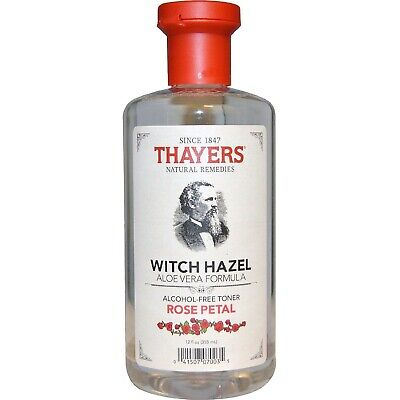 Thayers Witch Hazel Alcohol-Free Mens Skin Cleanser Toner Rose Petal