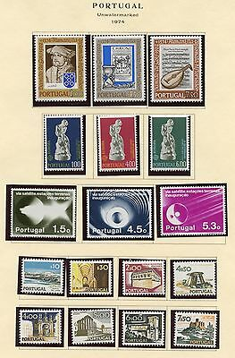 Portugal Lot Of 1974   Never Hinged  Stamps