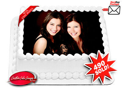 Custom Photo Edible Cake Image Icing Personalised A4 Birthday Decoration Topper