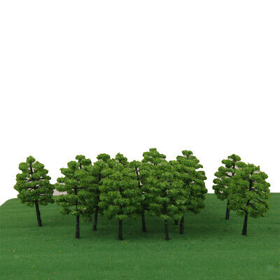 20pc Model Trees Train Railway Architecture Diorama Layout Scenery 9cm HO OO