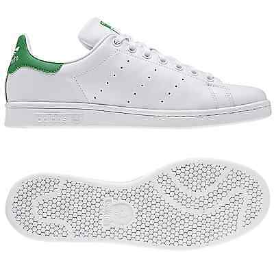 low priced 08a8b 1e22a adidas ORIGINALS STAN SMITH WHITE GREEN TRAINERS SIZES 7-12.5 SNEAKERS SHOES