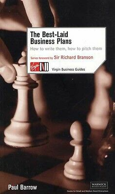 The Best-Laid Business Plans by Paul Barrow Paperback Book