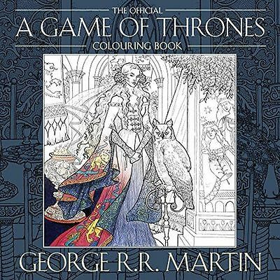 **NEW** - The Official A Game of Thrones Colouring Book (PB) ISBN9780008157906)