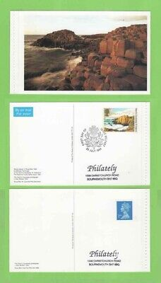 GB 1994 Two Giants Causeway Postcards with stamps