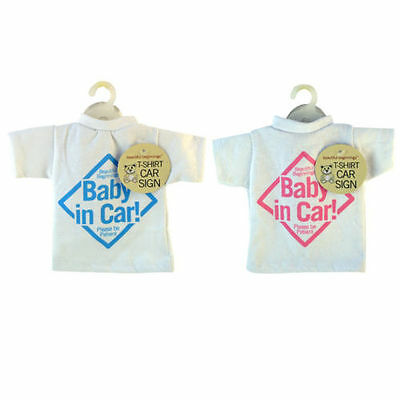 T-SHIRT STYLE BABY ON BOARD/ IN CAR SIGN/ Children/ Kids/ Toddlers/ Window Sign