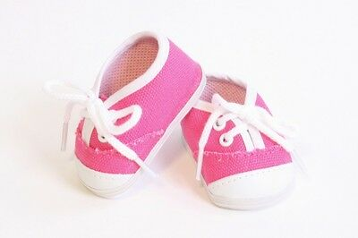 e0b64f9bbba1 Tennis Shoe Sneakers Hot Pink color made for 18