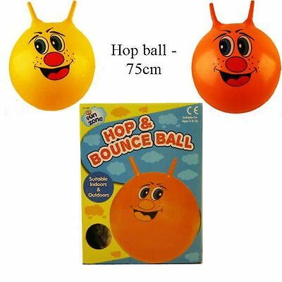 75cm LARGE JUMP N BOUNCE SPACE HOPPER RETRO BALL ADULT/KID OUTDOOR TOY-06389