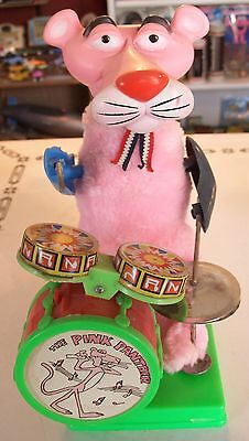 Pink Panther Battery Operated Toy, Vintage!  Cool!  Works!