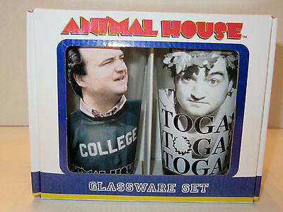 2 Animal House glasses - Brand New in the box