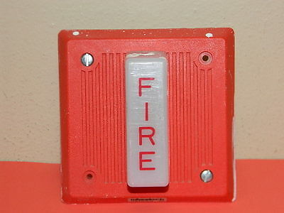Cooper Wheeelock Ehs-Dl1 Fire Alarm Strobe Ehs-Dl1-R (10 Available)