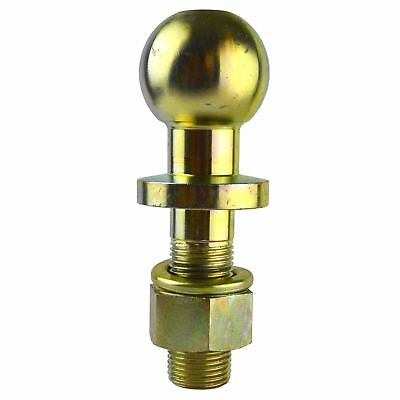 50mm Tow Ball / Bar Threaded Short Type for Recovery, Trike, Quad etc 25mm TR37A