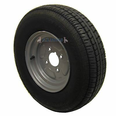 """Trailer Wheel and Tyre 145 x 10"""" 4ply 4""""pcd IRE"""