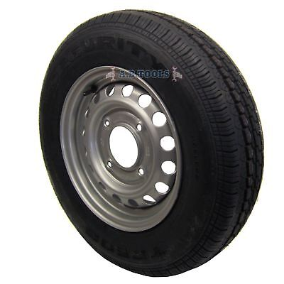 """Trailer Wheel and Tyre 165 R13C 5-1/2"""" PCD TRSP08 IRE"""