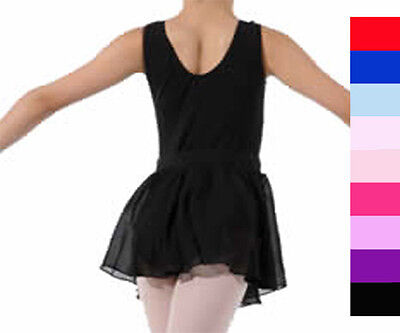 Pull On Ballet Dance Skirt  Pink, Purp, Red, Blue..lots Of Colours