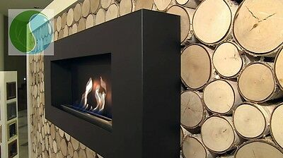 """FLAT"" Bio Ethanol Fireplace Biofireplace ALL COLOURS!! + WARRANTY + gifts"