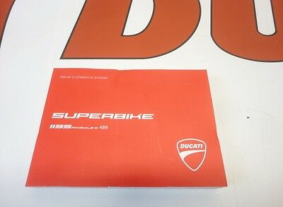 Ducati Panigale 1199S Abs Owners Manual France Language 91372441D
