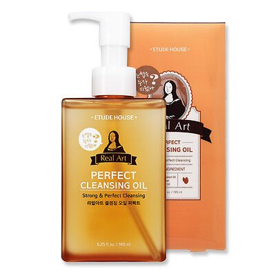 [ETUDE HOUSE] Real Art Cleansing Oil #Perfect 185ml New Strong & Deep Cleansing