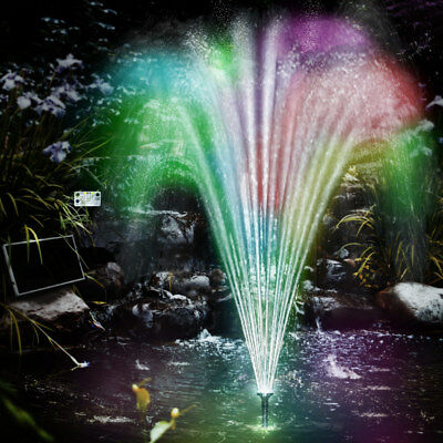 Solar Pump LED-Light Pond Garden LED with Battery Pond Pump Water Fountain