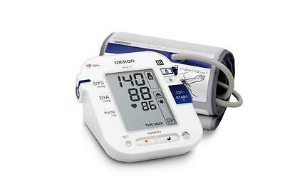 Omron M10 Fully Automated Blood Pressure Monitor Tracking Memory Auto Mode - New