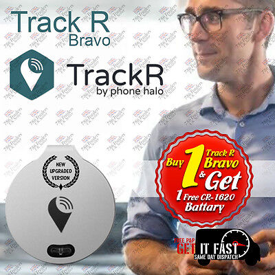 *SEALED*2017 VER* GENUINE TrackR Bravo Tracking Device with Crowd GPS TRACKER