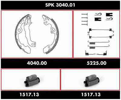 REMSA SPK 3040.01 Kit freno, freni a tamburo