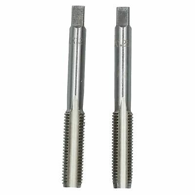 M10 x 1.25mm Metric Tap Set, Tungsten Steel, Taper and Plug Thread Cutter TD019