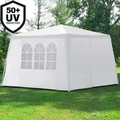 Tonnelle de jardin tente reception barnum NEW YORK - Pavillon 3x3m - fermeture