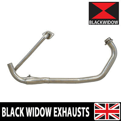 Honda XL 125 V Varadero 01-07 Stainless Steel Exhaust Pipes & Collector