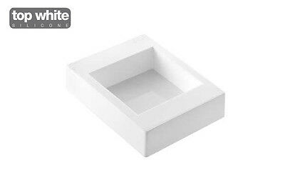 """Square 135x135mm / 5.3""""x5.3"""" Silicone Baking and Dessert Mould by Silikomart"""