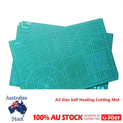 A3 Size Self Healing Cutting Mat PVC Patchwork Knife Pad Craft Quilting Broad