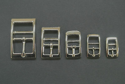 x2,x5,x10 Caveson Buckles Nickel Plated 10mm,13mm,16mm,20mm,25mm Webbings,Straps
