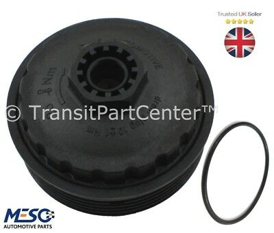 Oil Filter Cooler Bottom Screw Cap Bowl Ford Mondeo 2000-2007 Transit 2000-2014