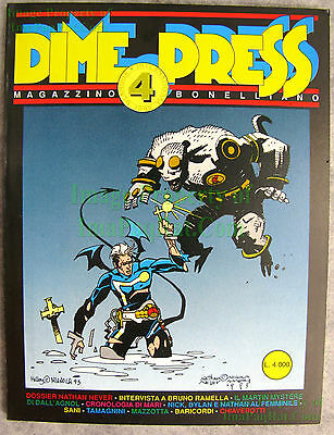Dime Press #4 1st Appearance of Hellboy May 1993 Mike Mignola VHTF Key BIG PICS!