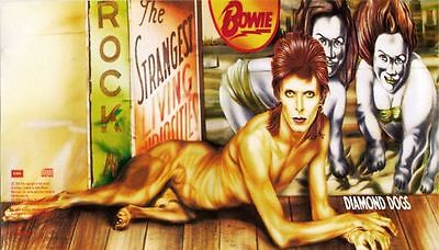 1970s DAVID BOWIE Diamond Dogs lp album full cover replica magnet - new!
