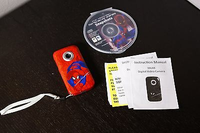 Marvels Spiderman Snapshots Digital Video Camcorder with 1.5 Inch Screen