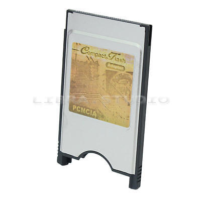 CF vers PCMCIA Carte Card CompactFlash Standard Plaque Accessoire Reader Adapter