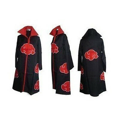 JP Naruto Akatsuki Uchiha/Akatsuki Itachi Cloak/Hoodies Uniform Costume Cosplay