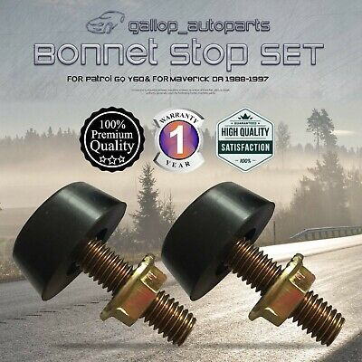 Bonnet Stop Adjuster for Nissan Patrol GQ for Ford Maverick Bumper Stopper 88-97