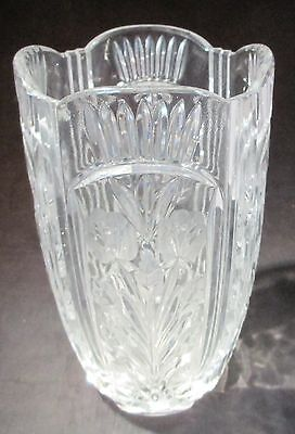 Royal Limited Czech 24 Lead Crystal Glass Vase Candy Bowl
