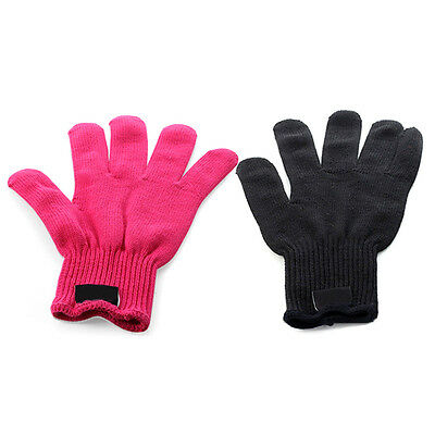 1x Proof Heat Resistant Protection Glove Hair Styling Curler Straightener Tool