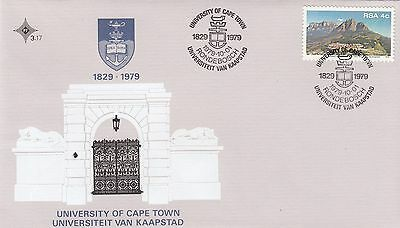 (84476) CLEARANCE South Africa FDC University of Cape Town 1 October 1979