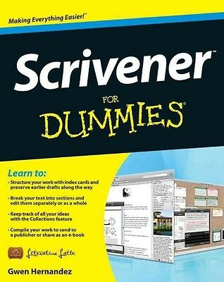 Scrivener For Dummies by Ivan Pope Paperback Book (English)