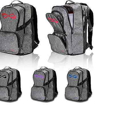 Nfinity Petite Small Cheer,sport,gym Backpack Sparkle Red,blue,pink,navy,violet